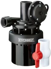 Everbilt 1/3 HP Utility Sink Pump Effluent Basement Bar Laundry Sinks Plumbing