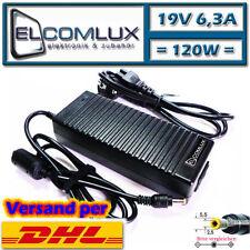 Notebook Laptop Netzadapter f. YAKUMO 120W 19V 6,3A