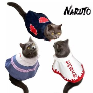Hokage Cat or Akatsuki Cat (Cat Cloak) Cat Costume Ninja Cloth For Cat