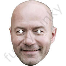 Alan Shearer Football Player Celebrity Card Mask - All Masks Are Pre-Cut!