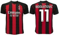 Maglia Ibra Milan 2021 ufficiale adulto ragazzo bambino 11 Zlatan Ibrahimovic