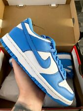 Nike Dunk Low UNC BLUE GS UK5.5 6Y GRADE SCHOOL IN HAND CW1590-103 Same Day Ship