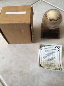 Frank Thomas Autographed Baseball HOF Chicago White Sox W COA Big Hurt