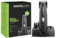 BaByliss 7107U Beard & Moustache Trimmer, Cordless Battery Operated
