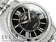 Seiko 5 Men's SNKL35K1  Stainless Steel Automatic 21 Jewels Day Date Watch