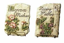 Napco Set of 2 Loving Parents Plaques, 11-Inch Tall