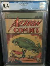 ACTION COMICS (1987) # 1 CGC 9.4 NM > RARE QUICK PROMO REPRINT < WHITE PAGES