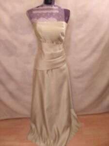 Evening  Floor-Length Dress size 14   Corset  Sleeveless  Light Lime
