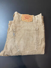 Vintage 70s Levi Strauss 517 Corduroy Mens Jeans Pants Size 33 x 32 Made In USA