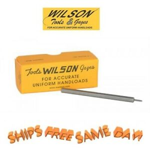 L.E. Wilson Decapping Punch for use with Decapping Base 22 Caliber, 218 Diameter