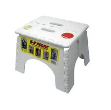 EZ-Foldz Step Stool for RV / Camper / Trailer / Motorhome / 5th Wheel - White