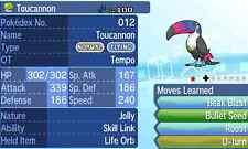 Pokemon Strategy Guide: Shiny Toucannon 6IV +Items Customization For Sun/Moon