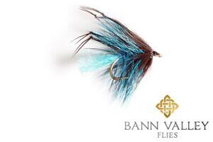 BANN VALLEY QUALITY IRISH TROUT FLIES HOPPER LEGGY WETS BUMBLES PETERS X3