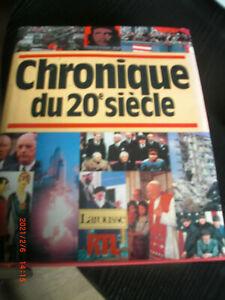 CHRONIQUE DU  20  SIECLE  LAROUSSE