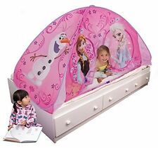 Durable Easy to Assemble Polyester Frozen Foldable Twin Bed Tent by Playhut