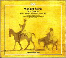 Wilhelm KIENTL 1857-1941 Don Quixote GUSTAV KUHN 3CD Thomas Mohr Michelle Breedt
