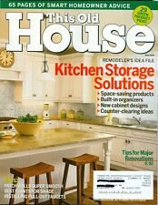 2006 This Old House Magazine: Kitchen Storage Solutions/Hole Repair/Shade Plants