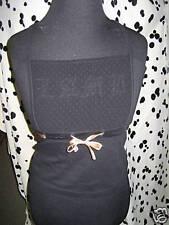 Nos L.A.M.B. Gwen Steffani 2005 Black Camisole Bustier Lace Cut Out Tank Top L