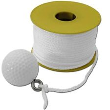 Wire Fishing Tool - Golf Ball String 100ft Nylon Cord, Ideal For Pulling Wire