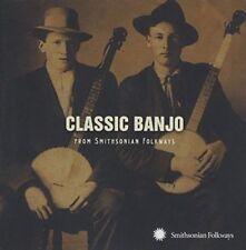 Classic Banjo From Smithsonian Folkwa 0093074020920 CD