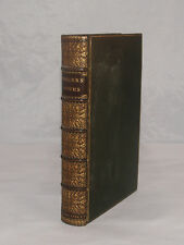 ANTIQUE POEMS OF SAMUEL ROGERS LONDON 1834 POETRY FINE LEATHER BINDING BOOK