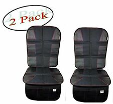Premium OXFORD Luxury Car Seat Protector -, Black Leather   (2Pack)