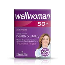 Vitabiotics Wellwoman suplemento mineral vitamina avanzado 50+ Plus 30 comprimidos