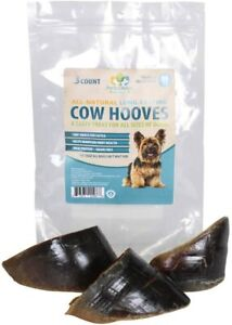 Pet's Choice Naturals 100% Beef Dog Treat - Cow Hooves, 3pk *