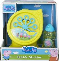 Peppa Pig Bubble Machine - Bubble Blower Maker Pepper Pig Toy with Bubble Liquid