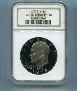 1978-S US Eisenhower Dollar - NGC PF68 Ultra Cameo
