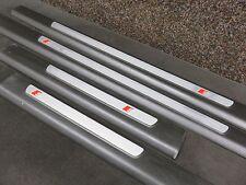 Original Audi A6 4F Set Einstiegsleisten S LINE SLINE Türleisten 4F0853373E G0