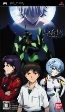 Used PSP  Bandai  Evangelion  SONY PLAYSTATION JAPAN IMPORT