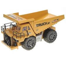 Construction RC Dump Truck 6CH Remote Control Lights & Sound Kids Toy New