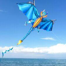 Einleiner Drachen  EIS  Dragon BLAU   R 2 Fly   NEU