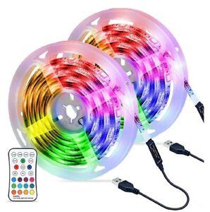 LED Strip Lights,OMERIL 6M/19.7ft 180LEDs USB Powered RGB Led Light Strip...