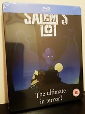 Stephen King SALEM'S LOT (1979) Blu-Ray U.K. Exclusive Limited Edition STEELBOOK