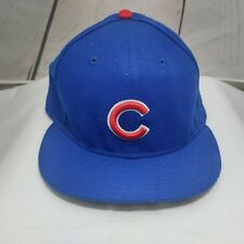Chicago Cubs Sz 7 1/2 Fitted New Era 59Fifty MLB On Field Baseball Cap Hat