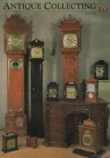 ANTIQUE COLLECTING (March 1993) GEORGIAN BRACKET CLOCKS - FITZROY BAROMETERS