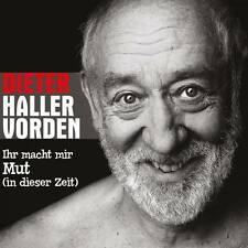 DIETER HALLERVORDEN Ihr Macht Mir Mut CD Single + Video 2015 * NEU