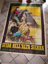 MANIFESTO SFIDA NELL'ALTA SIERRA R.SCOTT McREA  PECKINPAH Ride the High Count
