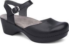 Women's Dansko Mary Jane Clog Sam Black Leather