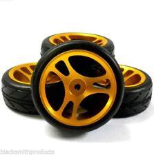 Ruote , cerchi e pneumatici per modellini radiocomandati oro , Scala compatibile 1:10