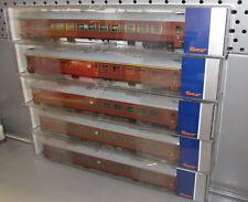 Roco H0 74512 - 74514 _ 5x SJ Personenwagen Reisezugwagen A7 B7 Ep IV _NEU