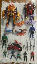 Power Rangers Samurai - Full Lot with Megazord, Squid, and Beetle