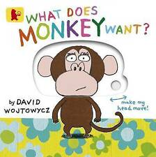 What Does Monkey Want?-ExLibrary