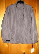 Calvin Klein Gray JACKET Mens Size XL Wind Water Resist Lined Mesh 6 Pockets NWT