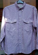 Mens Vintage St Michael 100% Pure Cotton Shirt in Size Medium