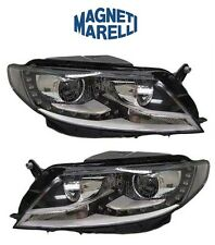 For Volkswagen CC 12-16 Pair Set of Left & Right Xenon Headlight Assemblies