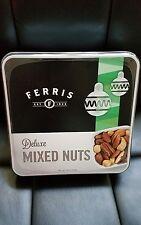 Ferris Company  1 lb. Tin Cashews Almonds Brazils Pecans Filberts Nut Mix NEW