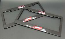 x2 HKS Racing License Plate Frame For Universal SUBARU INFINITI TOYOTA NISSAN